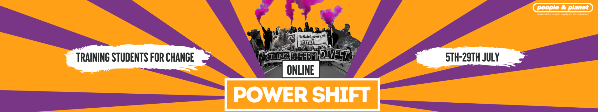 Power Shift Online: Training Students for Change. 5 - 29 July